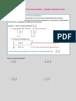 r2.Reducción de Fracciones a Común Denominador