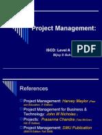 Project Management Lvl a Prt II 2008_09_edn4