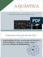 HISTÓRIA DA FÍSICA QUÂNTICA