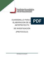 Cuardenillo de Metodologia de La Investigacion