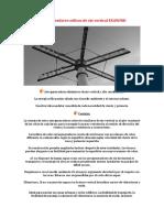 Aerogeneradores de Eje Vertical (alto rendimiento)