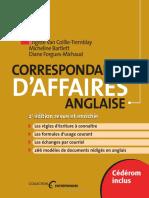 Correspondance d Affaires Anglaise 2e Edition