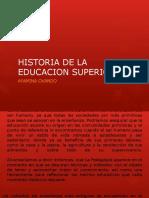 Historia Educacion Superior