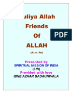 Auliya Allah - Friends of ALLAH (Azzo Jal)