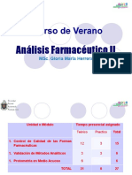 GENERALIDADES DE LAS FORMAS FARMACEUTICAS