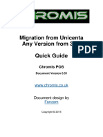 Migration From Unicenta