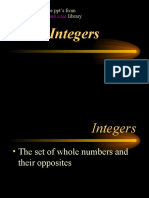 Integers Opt
