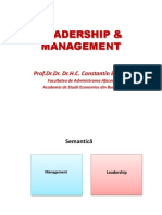 LM 1 Leadership & Management