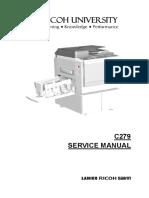 Ricoh DD450 service manuall