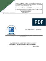 Nochteff - La experiencia argentina de los 90 desde el enfoque de la competitividad sistémica