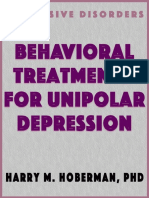 1990-Behavioral Treatments for Unipolar Depress - Harry m Hoberman Phd