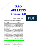 Bulletin 160201 (HTML Edition) Part 1