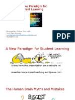 A New Paradigm for Student Learning 2016 Student Presentation