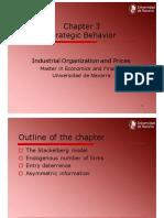 Chapter 3 Strategic Behaviour