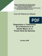 GRR Demencia en El Adulto Mayor