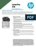 Hoja Tecnica Impresora HP Cartagena