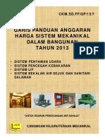 Anggaran Harga Sistem Mekanikal Dalam Bangunan 2013