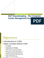 SAP HouseKeeping CCMS