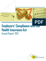 Employers Compliance Annual Report 2015