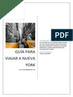 Guía Para Viajar a Nueva York Actualizada