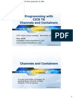 CICS Channels n Containers