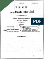 TBMM 1945 Ciftciyi Topraklandirma Kanunu