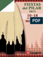 Programa Fiestas Del Pilar 2015