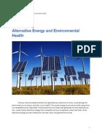 alternative energy article