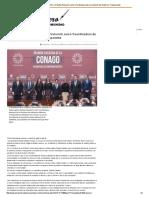25-01-16 Propone CONAGO a Claudia Pavlovich como Coordinadora de la Comisión de Gobierno Transparente - El Reportero