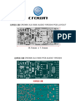 Crown Xls 5000 Audio Yiroshi Pcb