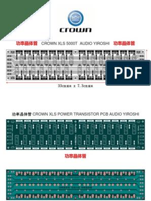 Power Transitor XLS 5000T