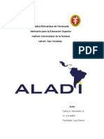 ALADI (Ensayo)
