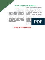 Resumen Anatomia y Fisiologia Humana