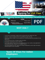 Visa Processing Issues