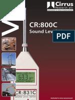 Cirrus Cr821c Data Sheet