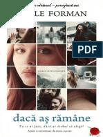 Gayle FormanRămâne - Dacă Aș
