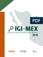 Índice Global de Impunidad México (IGI-MEX)