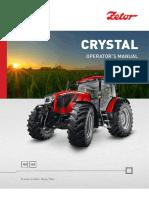 Zetor Crystal 150,160 Manual