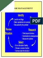 Error Management 1
