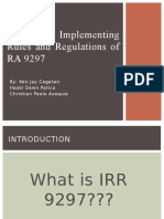 Irr 9297 Report