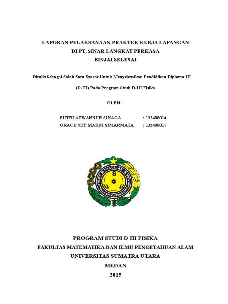 Laporan Pkl Kelapa Sawit