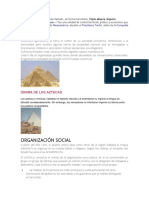 Aztecas e Incas