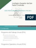 Propuesta de Proyectos 2013