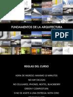 Primera Clase Fundamentos de La Arquitectura