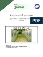 Dc & Ups System