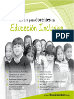 Revista Educacion Inclusiva