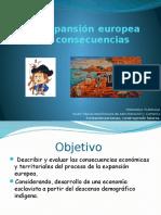 La Expansión Europea y Su Expresión Geográfica