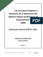 Manual de Uso de SIMI (Sistema Integral de Monitoreo de Importaciones)