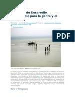Objetivos de Desarrollo Sustentable Para La Gente y El Planeta