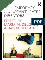European Theatre Directors